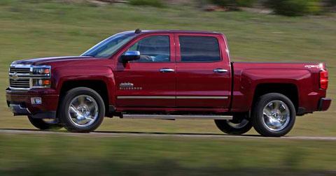 2014-Chevrolet-Silverado-High-Country-heading-out-B