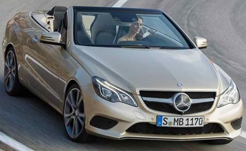 2014-Mercedes-Benz-E-Class-Cabriolet-profile-open-top A
