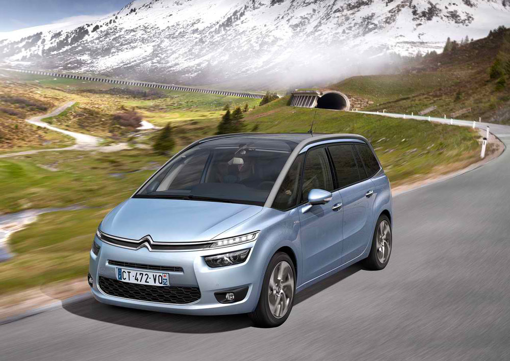 2014 citroen grand c4 picasso review pictures price. Black Bedroom Furniture Sets. Home Design Ideas