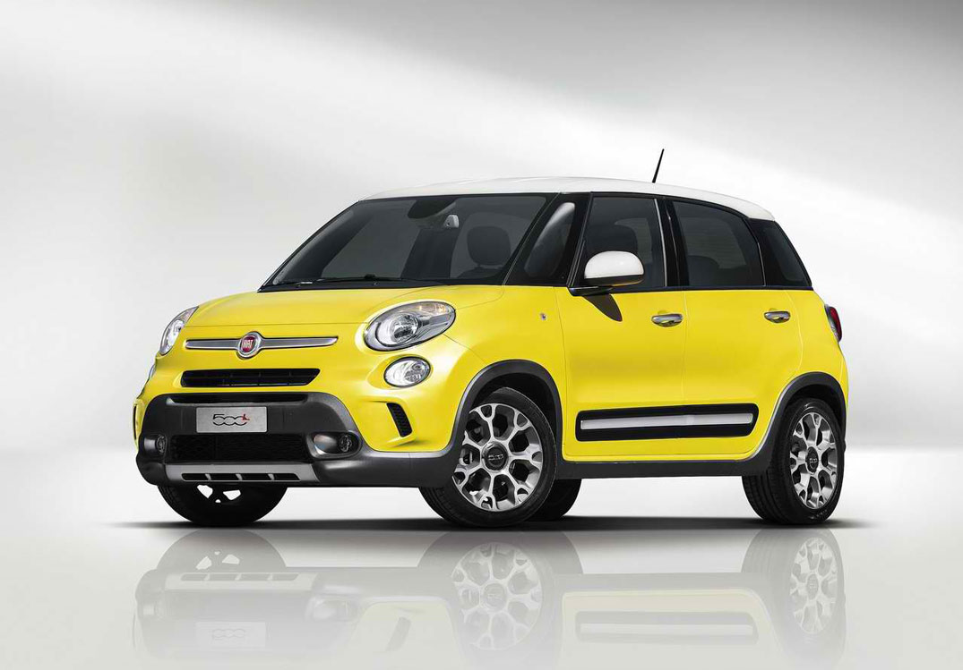 2014 fiat 500l trekking review pictures price mpg. Black Bedroom Furniture Sets. Home Design Ideas