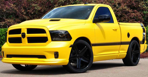 2013-Ram-1500-Rumble-Bee-Concept-outdoors-A