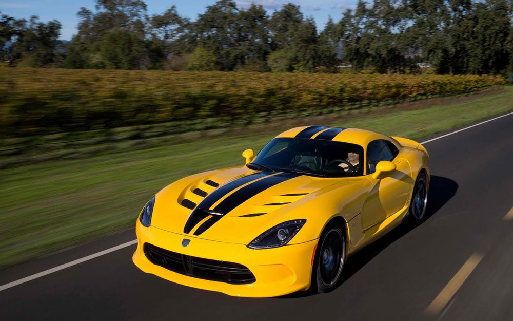 2013 SRT Viper Race Yellow Price & 0-60 Time