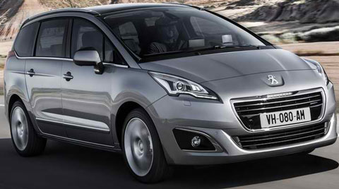 2014 peugeot 5008 review specs pictures mpg price. Black Bedroom Furniture Sets. Home Design Ideas