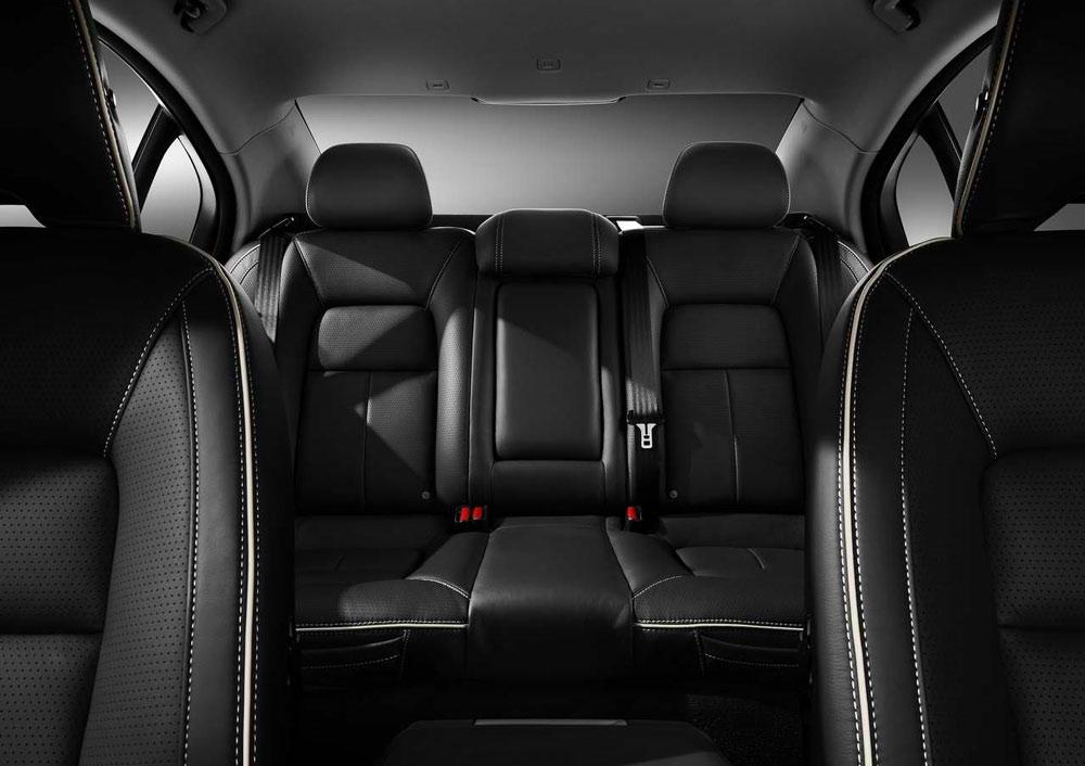 Volvo S80 2014 Black 2014 Volvo S80 Rear Seating 3