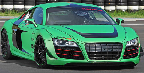 2012 Racing One Audi R8 V10 Review & 0-60 MPH Time