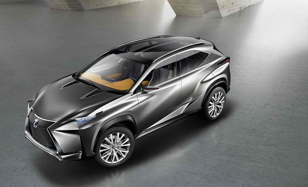 http://www.thesupercars.org/wp-content/uploads/2013/09/2013-Lexus-LF-NX-Concept-another-view.jpg