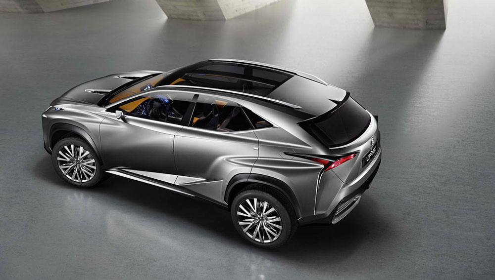 http://www.thesupercars.org/wp-content/uploads/2013/09/2013-Lexus-LF-NX-Concept-from-up-here.jpg