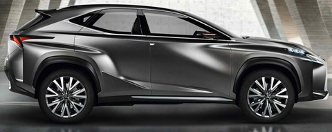 2013-Lexus-LF-NX-Concept-parked B