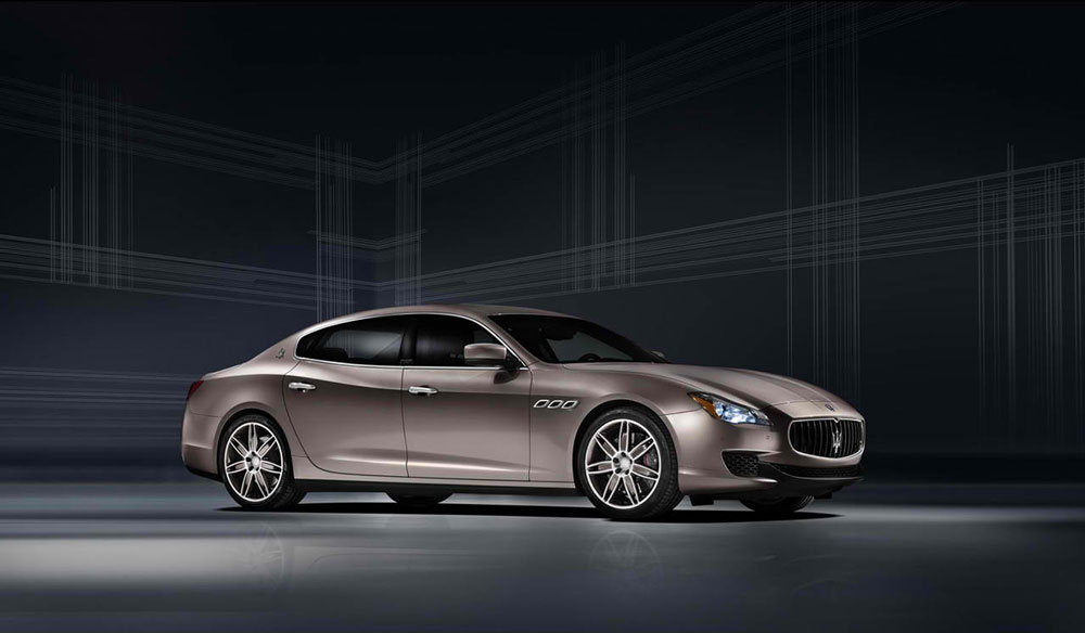 the footsteps of its predecessor, the 2013 Maserati Quattroporte ...