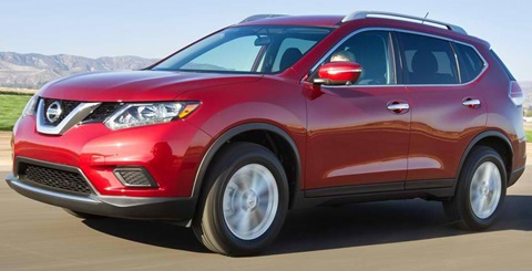 2014-Nissan-Rogue-in-red B