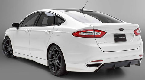 2013-3dCarbon-Ford-Fusion-from-behind-angle-C