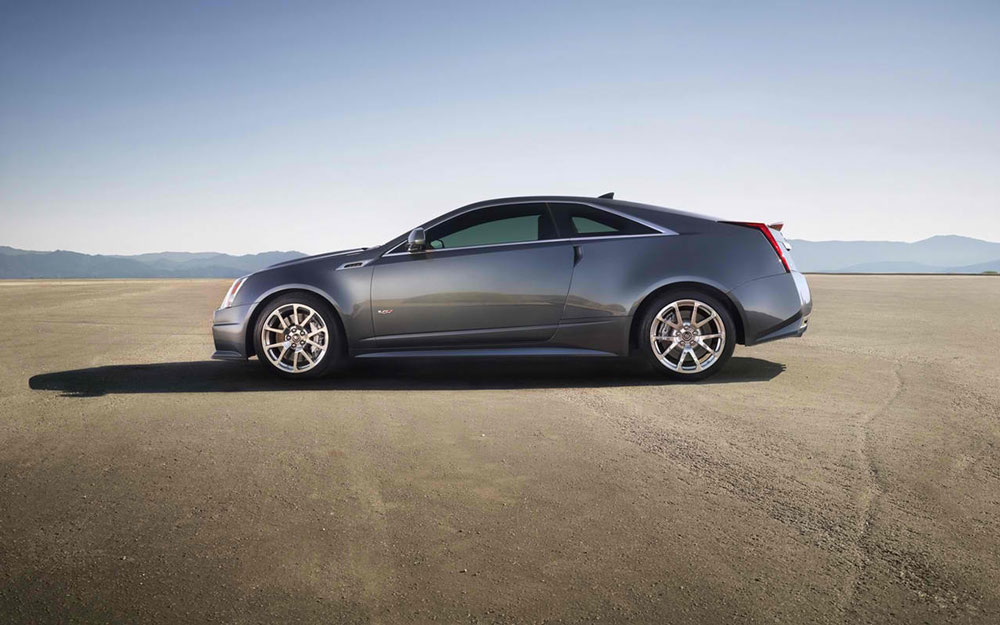 2014 cadillac cts v coupe price mpg