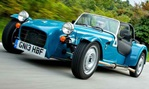 2014-Caterham-Seven-160-down-the-road 1