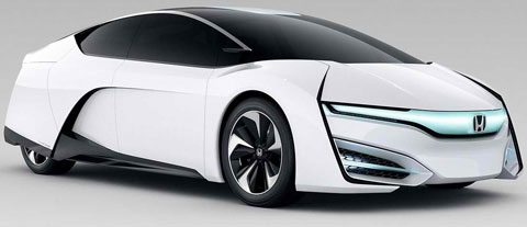 2013-Honda-FCEV-Concept-profile-A