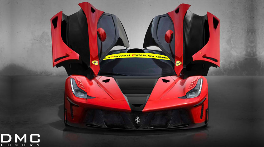 2014 DMC Ferrari LaFerrari FXXR In Studio Front