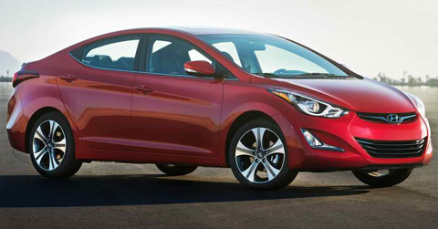 2014-Hyundai-Elantra-Sedan-in-red-B