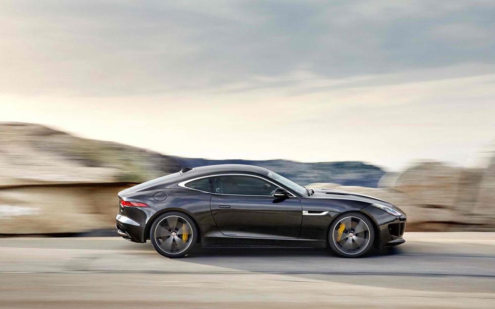 2015 jaguar f type coupe review 0 60 mph time. Black Bedroom Furniture Sets. Home Design Ideas