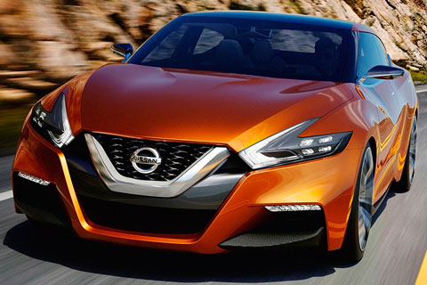 2014-Nissan-Sport-Sedan-Concept-on-the-highway-A