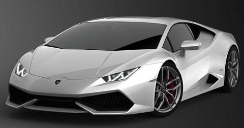 2015 Lamborghini Huracan LP610 4 White Vision A
