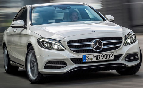 2015-Mercedes-Benz-C-Class-profile-of-C250-BlueTec-A