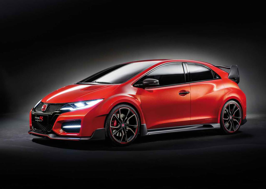 2014 honda civic type r concept review pictures. Black Bedroom Furniture Sets. Home Design Ideas