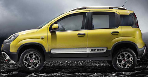 2015 fiat panda cross pictures mpg. Black Bedroom Furniture Sets. Home Design Ideas
