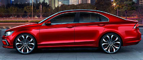 2014-Volkswagen-New-Midsize-Coupe-Concept-downtown-B