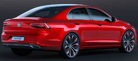 2014-Volkswagen-New-Midsize-Coupe-Concept-studio-C