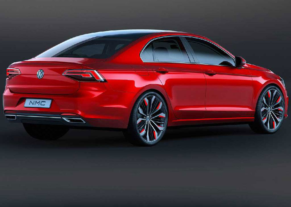 2014 Volkswagen New Midsize Coupe Concept Review Pictures