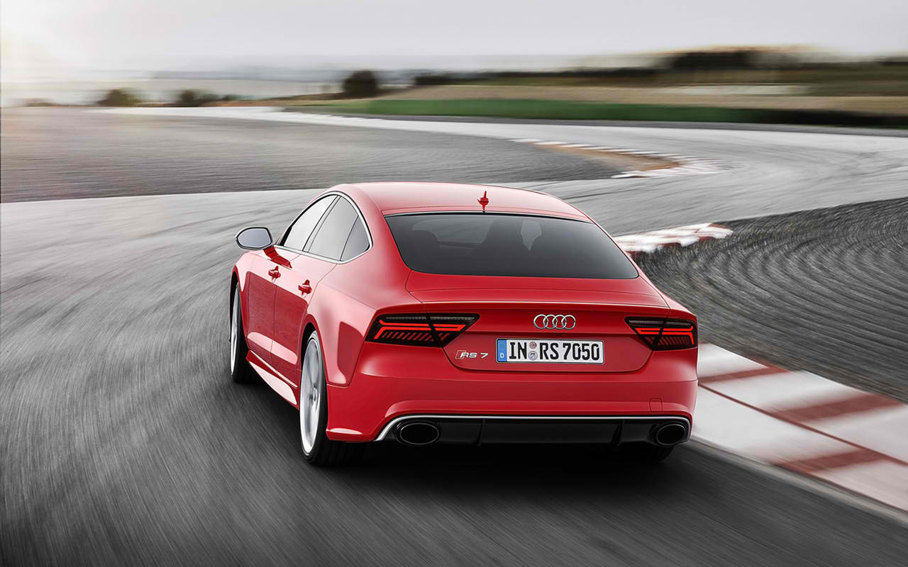 2015 audi rs7 sportback review mpg price. Black Bedroom Furniture Sets. Home Design Ideas