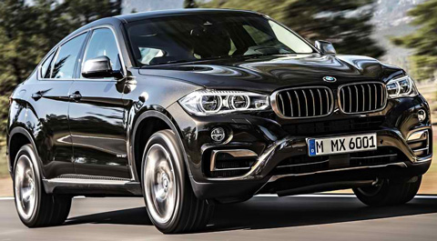 2015 BMW X6 In Black A AA