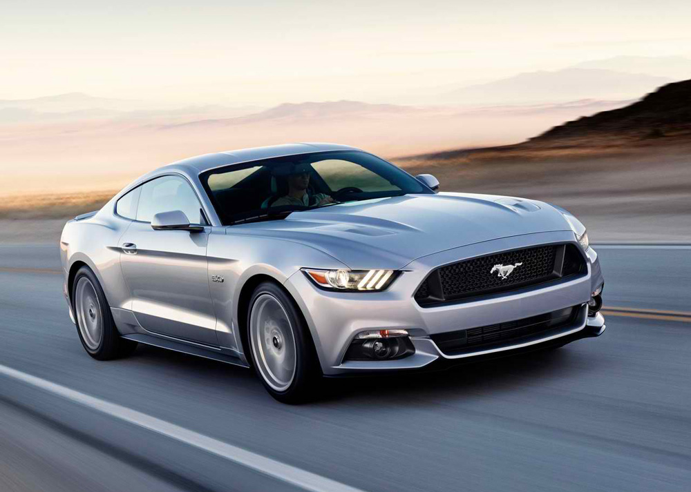 Ford Mustang Gt Silver Bullet A