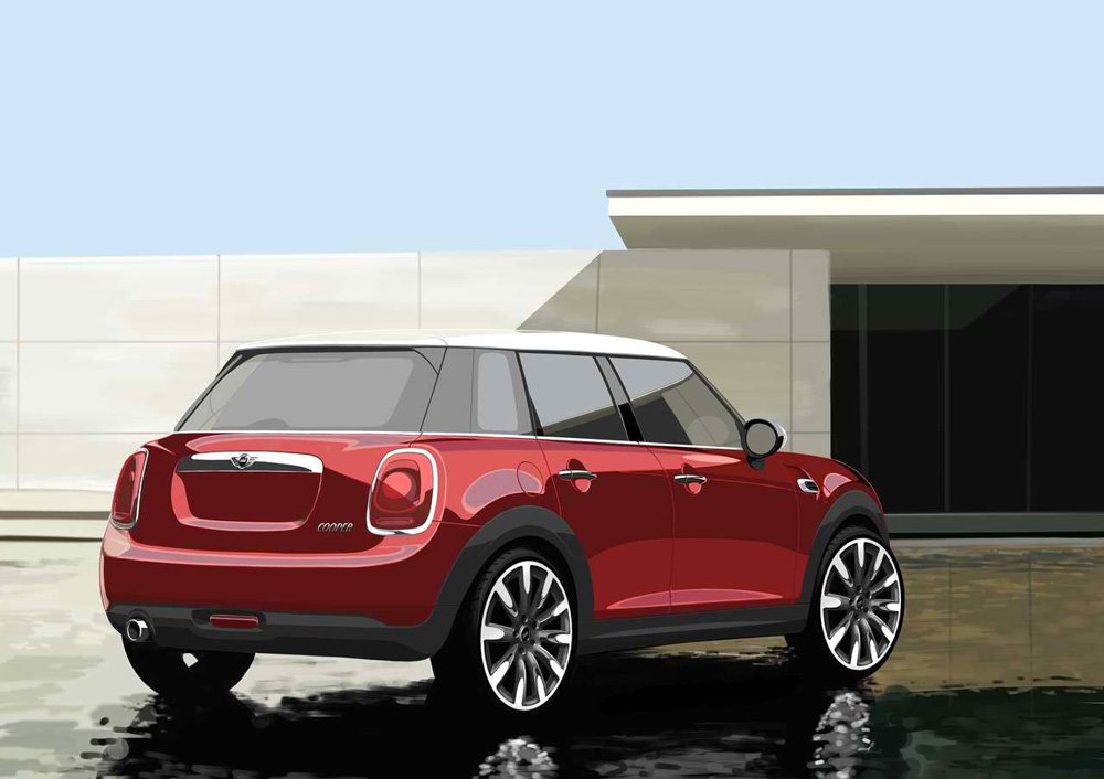 2015 mini cooper 5 door review pictures. Black Bedroom Furniture Sets. Home Design Ideas