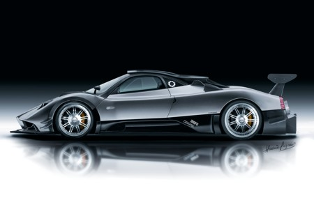 Exotic Car Pagani Zonda R