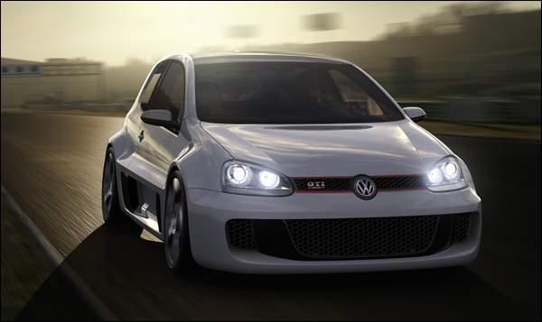 Volkswagen Golf GTI W12 650hp Concept
