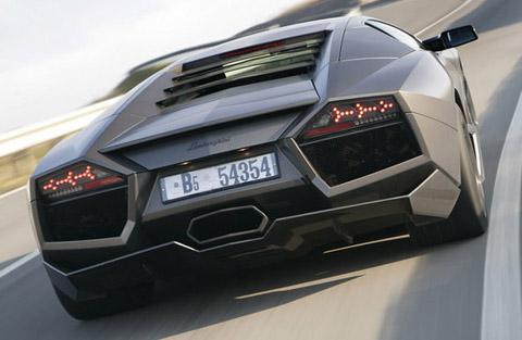 Lamborghini Reventon Back View