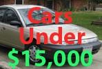 Used Cars Under 15000 Dollars