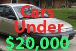 Used Cars Under 20000 Dollars