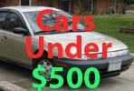 Used Cars Under 500 Dollars