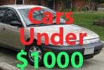 Used Cars Under 1000 Dollars