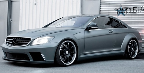 Famous-Parts-Mercedes-Benz-CL63-AMG-Black-Edition-WBKit-reveal B