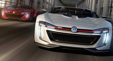 2014-Volkswagen-GTI-Roadster-Concept-head-to-head-B